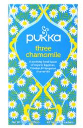 Pukka Tea - Three Chamomile - (Pack of 2) 30g net weight each