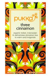 Pukka Tea - Three Cinnamon - (Pack of 2) 40g net weight each
