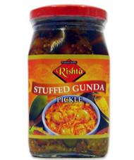 Rishta - Stuffed Gunda Pickle (cordia pickle)