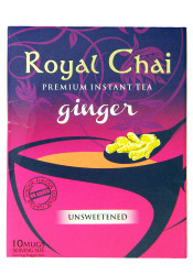 Royal Chai - Premium Instant Tea - Ginger (unsweetened) 180g