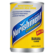 Dunn's River Nurishment Banana Flavour - 400g - Pack of 2 (400g x 2 Cans)