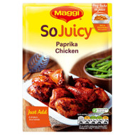 Maggi So Juicy Paprika Chicken - 30g - Pack of 8 (30g x 8)