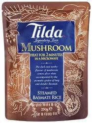 Tilda Steamed Basmati Mushroom Rice - 250g