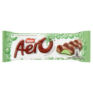 Aero Bubbly Mint Bar - 40g - Pack of 6 (40g x 6 Bars)