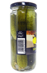 Aleyna - Mini Gherkins - 500g (Pack of 2)