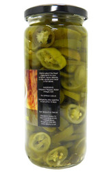 Aleyna - Sliced Green Jalapenos - 480g (Pack of 2)