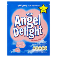 Angel Delight Strawberry Flavour - 59g - Pack of 3 (59g x 3)