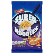 Batchelors Super Noodles Chow Mein Flavour - 100g - Pack of 4 (100g x 4)