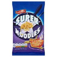 Batchelors Super Noodles Chow Mein Flavour - 100g - Pack of 4 (100g x 4)