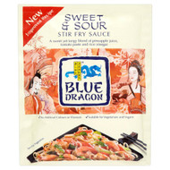 Blue Dragon Sweet & Sour Stir Fry Sauce - 120g - Pack of 4 (120g x 4)