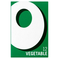 Oxo 12 Vegetable Stock Cubes - 71g - Pack of 4 (71g x 4)