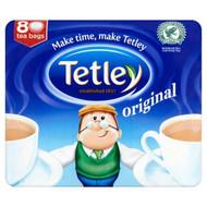 Tetley Original Tea Bags - 80's - Pack of 4 (80's x 4)