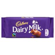 Cadburys Dairy Milk Standard 110g - Pack of 2 (110g x 2 Bars)