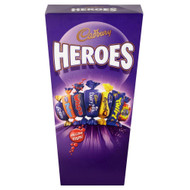 Cadburys Miniature Heroes - 323g - Dairy Milk, Caramel, Eclairs, Fudge and Many More - Pack of 2 (323g x 2 Boxes)