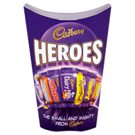 Cadburys Miniature Heroes Small - 185g - Pack of 4 (185g x 4 Boxes)