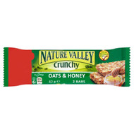 Nature Valley Oats & Honey Bar - 42g - Pack of 12 (42g x 12)