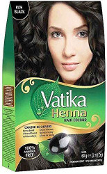 Dabur Vatika Heena Hair Colour Black - 60g