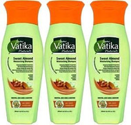 Dabur Vatika Sweet Almond Shampoo Pack of 3 - 200ml