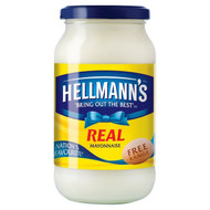 Hellmanns Real Mayonnaise - 400g - Pack of 2 (400g x 2)