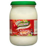 Dolmio Creamy White Lasagne Sauce - 300g - Single Jar (300g x 1 Jar)