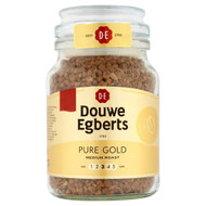 Douwe Egberts Medium Roast Gold - 95g - Pack of 4 (95g x 4)