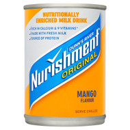Dunn's River Nurishment Mango Flavour - 400g - Pack of 2 (400g x 2 Cans)