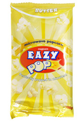 Eazy Pop - Butter Popcorn - 100g (Pack of 4)