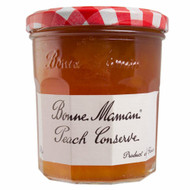 Bonne Maman Peach Conserve - 370g - Pack of 2 (370g x 2)