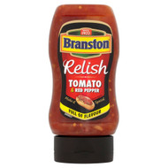 Branston Tomato & Red Pepper Relish - 335g - Pack of 2 (335g x 2)
