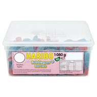 Haribo Fizzy Bubblegum Bottles - 1080g - Approx 120 Pieces