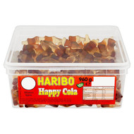Haribo Happy Cola - 960g - Approx 300 Pieces