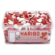 Haribo Heart Throbs - 960g - Approx 300 Pieces