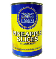 Heera - Pineapple Slices in Light Syrup - 425g (pack of 2)