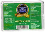 Heera Mini Papad Green Chilli Pack of 5 - 5 x 200g