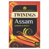 Twinings Assam Tea Bags - 40's - Pack of 2 (40's x 2)