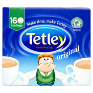Tetley Original Tea Bags - 160's - Pack of 2 (160's x 2)