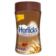Horlicks Chocolate Light - 200g - Pack of 2 (200g x 2)
