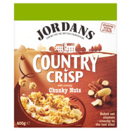 Jordans Country Crisp Chunky Nuts - 400g - Pack of 2 (400g x 2 Boxes)