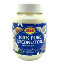KTC 100% Pure Coconut Multipurpose Oil 500ml Jar x 8 Qty (pack of 8)