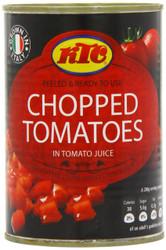 Ktc Chopped Tomatoes Pack of 24 -24 x 400g