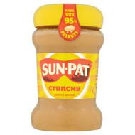 Sunpat Peanut Butter Crunchy - 340g - Pack of 2 (340g x 2)