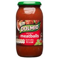 Dolmio Meatball Sauce Tomato & Basil - 500g - Single Jar (500g x 1 Jar)