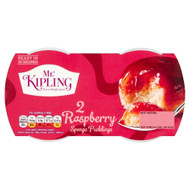 Mr Kipling Sponge Pudding Raspberry - Pack of 4