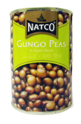 Natco - Gungo Peas in Salted Water - 400g (pack of 4)