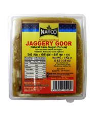 Natco - Jaggery Goor (kolhapuri unrefined) - Panela - 1kg x 2