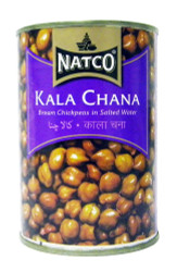 Natco - Kala Chana - 400g (pack of 4)