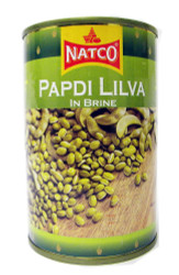 Natco - Papdi Lilva in Brine - 400g (pack of 4)