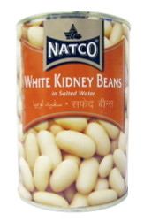 Natco - White Kidney Beans - 400g (pack of 4)