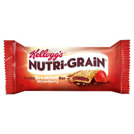 Nutri-Grain Strawberry Cereal Bar - 37g - Pack of 12 (37g x 12)