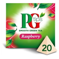 PG Tips Green Tea Raspberry - 25's - Pack of 2 (25's x 2)